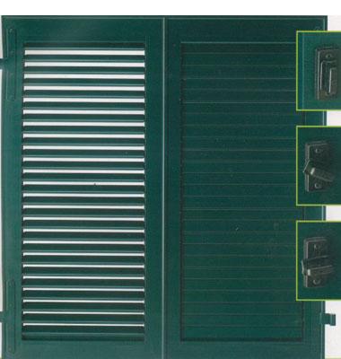 Persiana a lamelle orientabili foresto centro sicurezza - Prezzo finestre pvc al mq ...