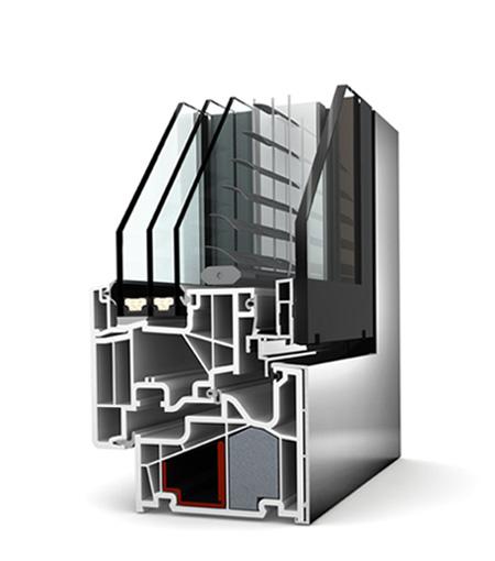 Finestre studio in pvc alluminio foresto centro - Finestre in alluminio o pvc differenze ...
