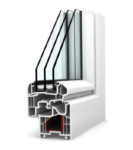 Finestre Ambiente PVC KF200