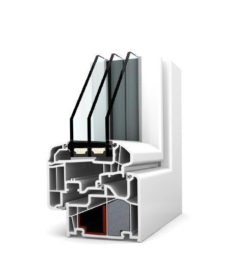 Finestre Ambiente PVC KF410