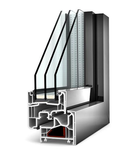 Finestre Home Pure PVC/Alu KF200