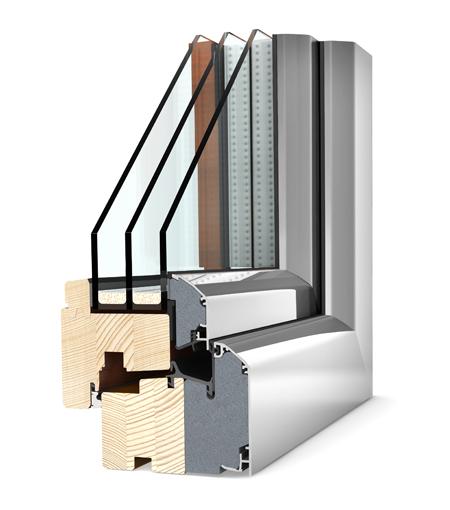 Finestre Home Soft legno/alu HF300