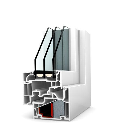 Finestre Home Pure PVC KF410