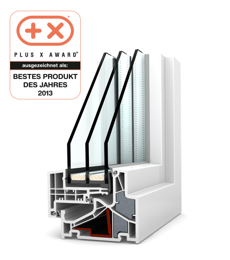 Finestre Home Pure PVC KF500