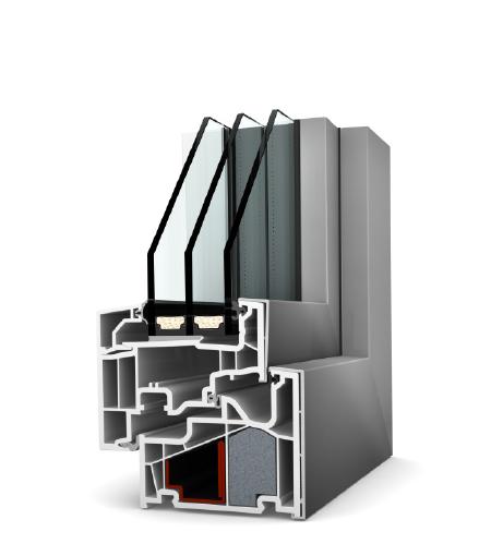 Finestre Home Pure PVC/Alu KF410