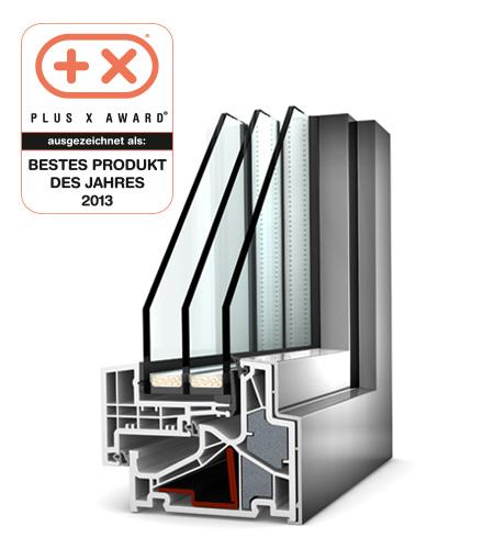 Finestre Home Pure PVC/Alu KF500