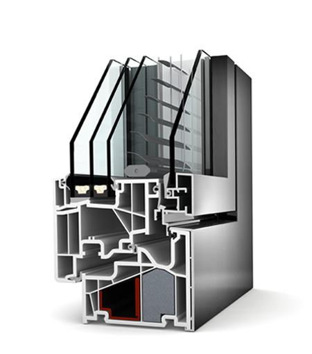 Finestre Home Pure PVC/Alu KV440