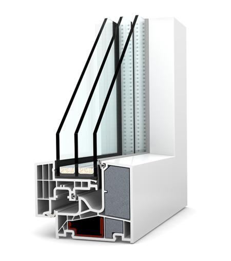 Finestre Studio PVC KF400